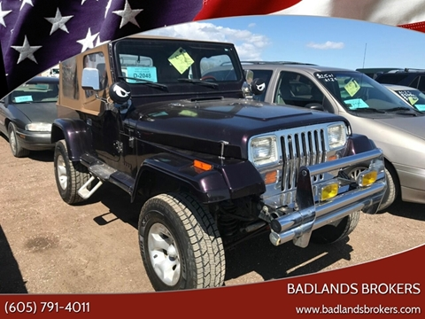 1987 Jeep Wrangler for sale in Piedmont, SD