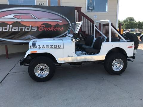 1977 Jeep CJ-7 for sale at Badlands Brokers in Rapid City SD