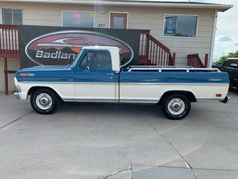 1968 Ford F-100 for sale at Badlands Brokers in Rapid City SD