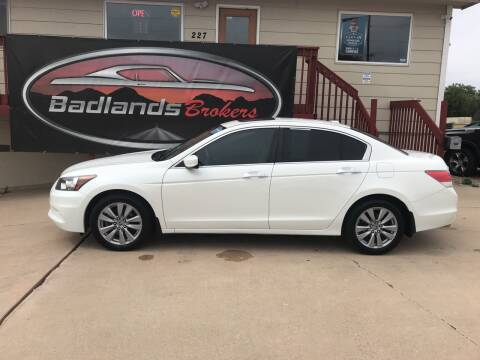 2012 Honda Accord for sale at Badlands Brokers in Rapid City SD