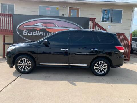 2013 Nissan Pathfinder for sale at Badlands Brokers in Rapid City SD