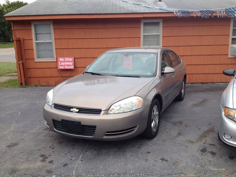 2006 Chevrolet Impala for sale at Bakers Car Corral in Sedalia MO