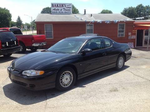2001 Chevrolet Monte Carlo for sale at Bakers Car Corral in Sedalia MO