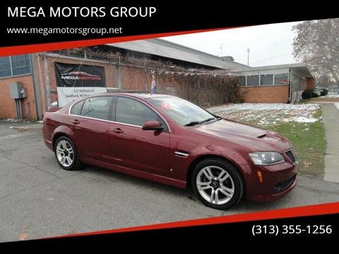 2009 Pontiac G8 for sale in Redford, MI