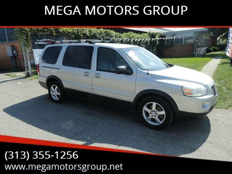 2007 Pontiac Montana SV6 for sale in Redford, MI