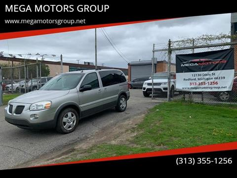 2009 Pontiac Montana SV6 for sale in Redford, MI