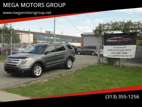 2013 Ford Explorer for sale at MEGA MOTORS GROUP in Redford MI