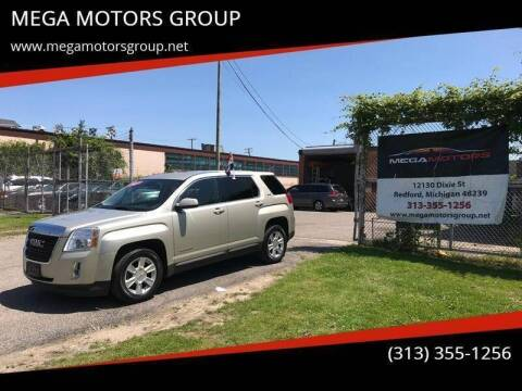 2013 GMC Terrain for sale at MEGA MOTORS GROUP in Redford MI