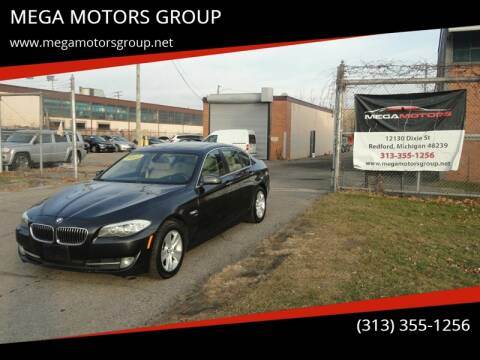 2012 BMW 5 Series for sale at MEGA MOTORS GROUP in Redford MI