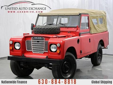 1974 Land Rover Defender for sale at United Auto Exchange in Addison IL