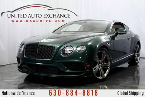 2016 Bentley Continental for sale at United Auto Exchange in Addison IL