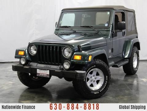 2004 Jeep Wrangler for sale in Addison, IL
