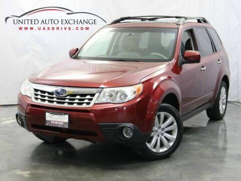 2013 Subaru Forester for sale at United Auto Exchange in Addison IL