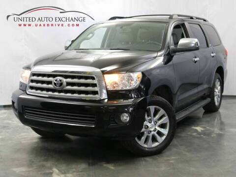 2011 Toyota Sequoia for sale at United Auto Exchange in Addison IL