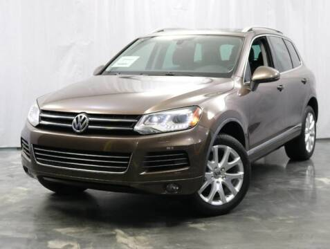 2012 Volkswagen Touareg for sale at United Auto Exchange in Addison IL