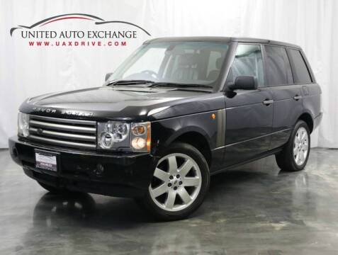 2004 Land Rover Range Rover for sale at United Auto Exchange in Addison IL