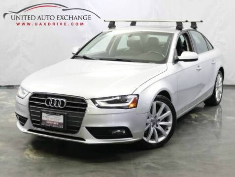 2013 Audi A4 for sale at United Auto Exchange in Addison IL