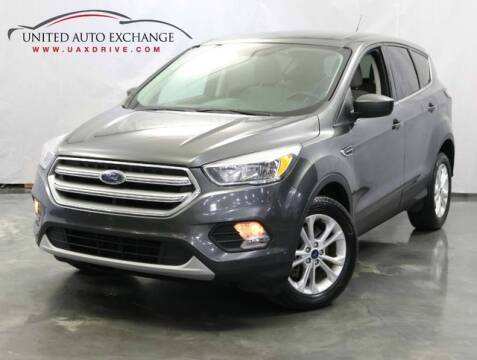 2017 Ford Escape for sale at United Auto Exchange in Addison IL