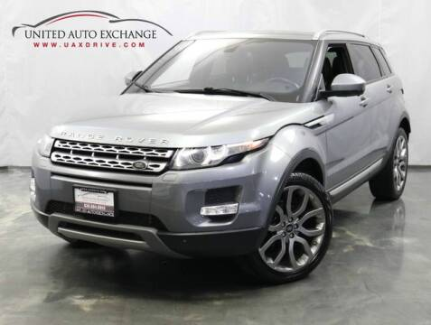 2015 Land Rover Range Rover Evoque for sale at United Auto Exchange in Addison IL
