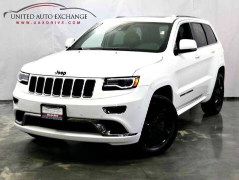 2016 Jeep Grand Cherokee for sale at United Auto Exchange in Addison IL
