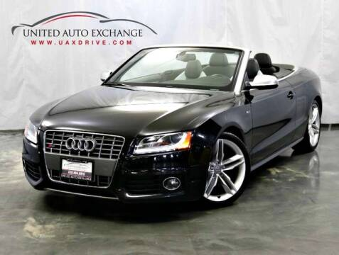 2010 Audi S5 for sale at United Auto Exchange in Addison IL