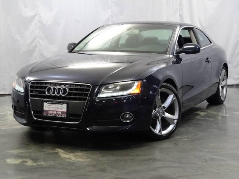 2012 Audi A5 for sale at United Auto Exchange in Addison IL