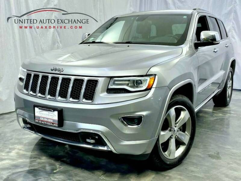 2014 Jeep Grand Cherokee for sale at United Auto Exchange in Addison IL