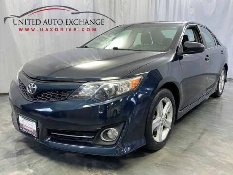2013 Toyota Camry for sale at United Auto Exchange in Addison IL