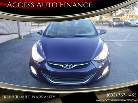 Hyundai Used Cars financing For Sale Houston Access Auto Finance
