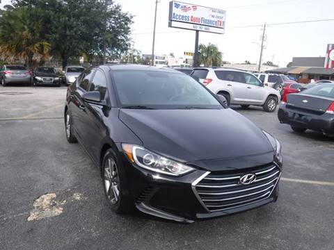 2017 Hyundai Elantra for sale in Houston, TX