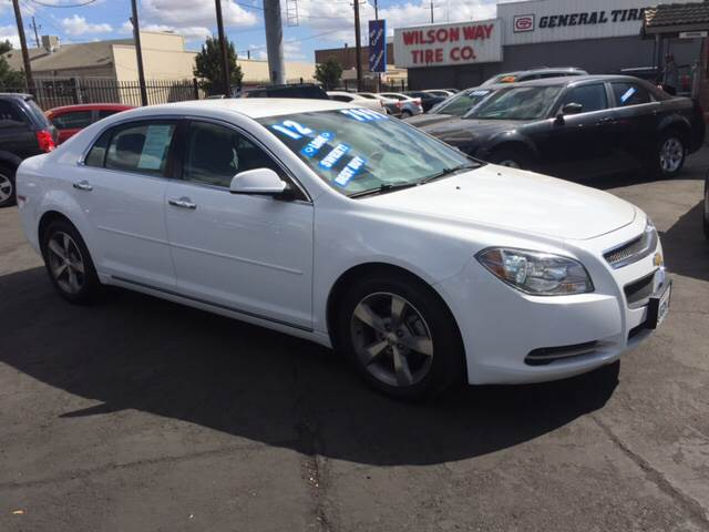 2012 Chevrolet Malibu For Sale At WILSON MOTORS In Stockton CA