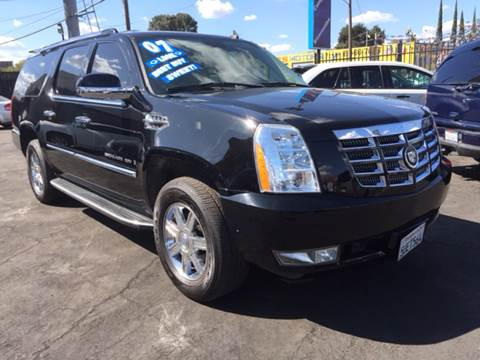 2007 Cadillac Escalade ESV for sale in Stockton, CA