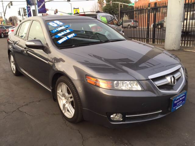 2008 Acura Tl In Stockton Ca Wilson Motors
