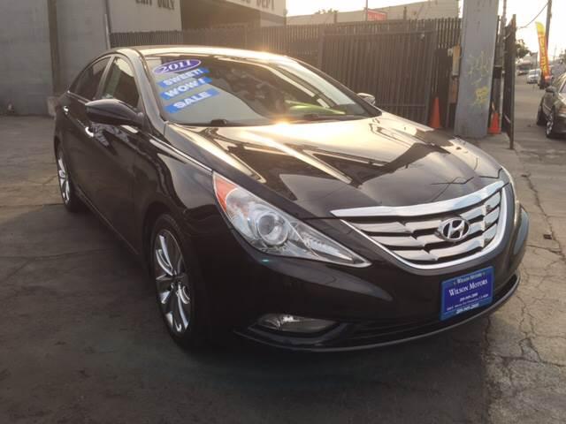 2011 Hyundai Sonata For Sale At WILSON MOTORS In Stockton CA