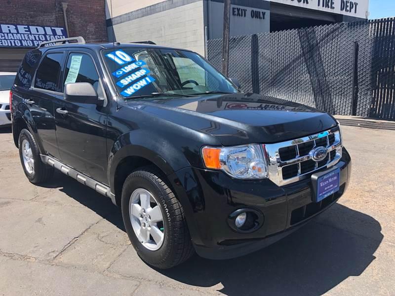 2010 Ford Escape For Sale >> 2010 Ford Escape Xlt In Stockton Ca Wilson Motors
