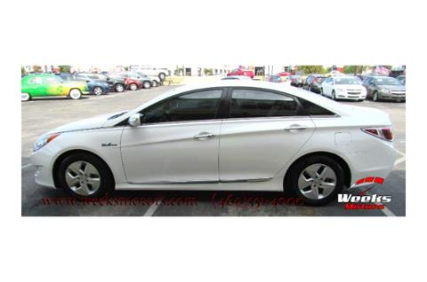 2011 Hyundai Sonata Hybrid for sale in Dallas, TX