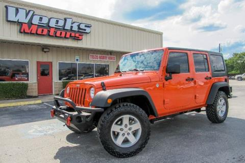 2015 Jeep Wrangler Unlimited for sale in Dallas, TX