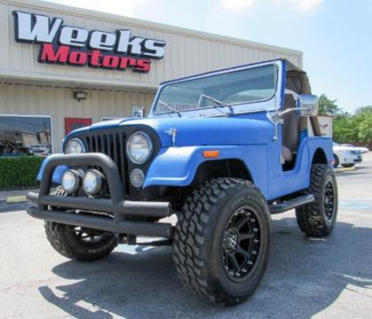 1980 Jeep CJ-5 for sale in Dallas, TX