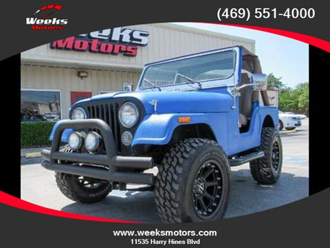 1980 Jeep CJ-5 for sale in Dallas, TX