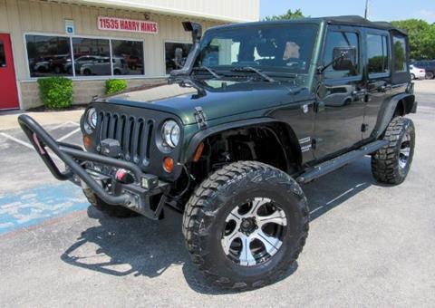 2011 Jeep Wrangler Unlimited for sale in Dallas, TX