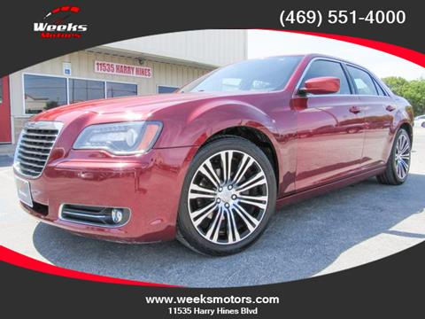 2013 Chrysler 300 for sale in Dallas, TX