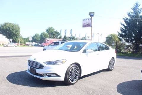 2017 Ford Fusion for sale in Trevose, PA