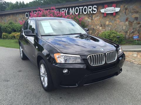 2013 BMW X3 for sale at Classy And Luxury Motors in Marietta GA