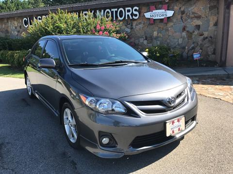 2012 Toyota Corolla for sale at Classy And Luxury Motors in Marietta GA