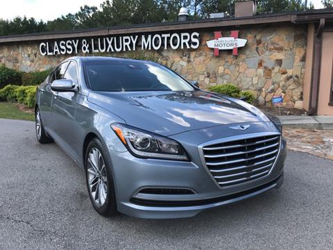 2015 Hyundai Genesis for sale at Classy And Luxury Motors in Marietta GA