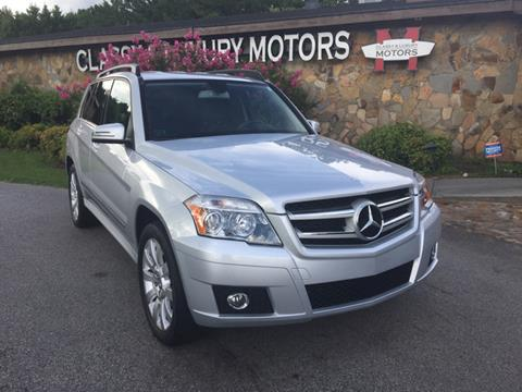 2011 Mercedes-Benz GLK for sale at Classy And Luxury Motors in Marietta GA