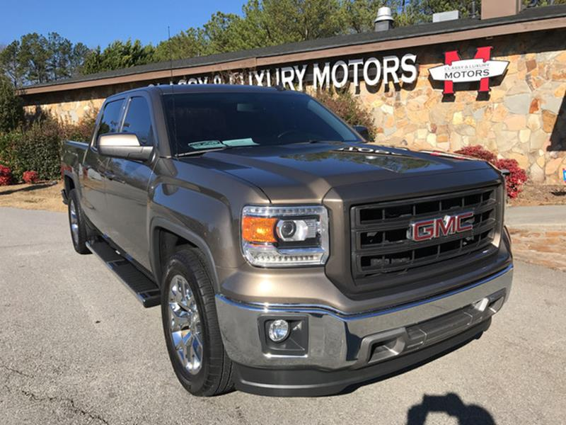 2014 GMC Sierra 1500 for sale at Classy And Luxury Motors in Marietta GA