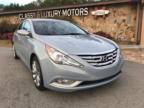 2011 Hyundai Sonata for sale at Classy And Luxury Motors in Marietta GA
