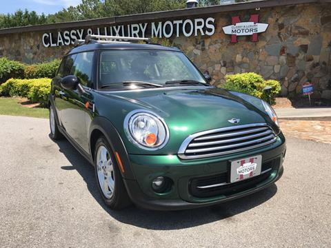 2013 MINI Clubman for sale at Classy And Luxury Motors in Marietta GA