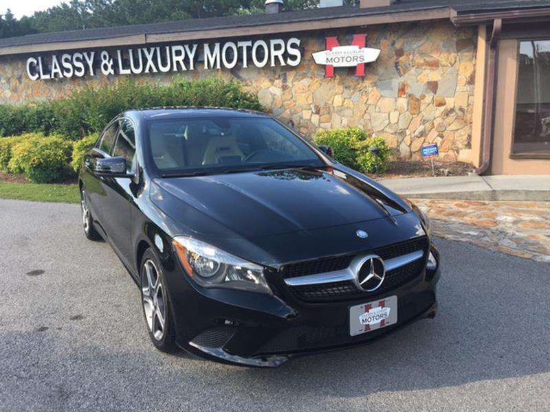 2014 Mercedes-Benz CLA for sale at Classy And Luxury Motors in Marietta GA